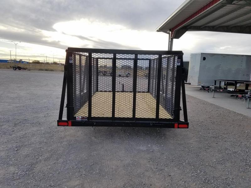 "77"" X 12 Commercial Utility Trailer (UC) @ RED BARN TRAILERS"