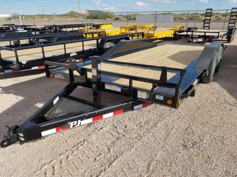 "102 X 20 6"" Channel Super-Wide Tilt (TS) Car / Racing Trailer @ Red Barn Trailers"