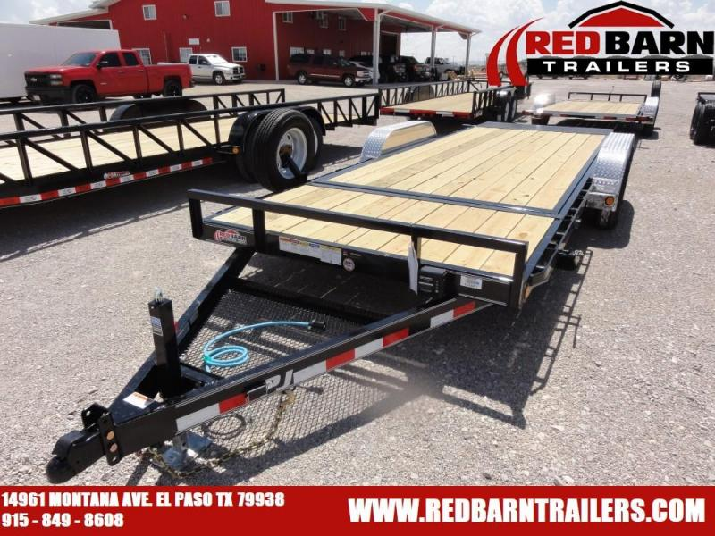 7 x 20 2020 PJ Trailers T5 Equipment Trailer @RED BARN TRAILERS