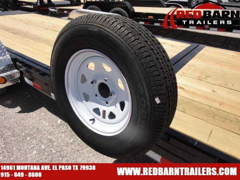 7 x 20 2020 PJ Trailers T5 Equipment Trailer @RED BARN TRAILERS
