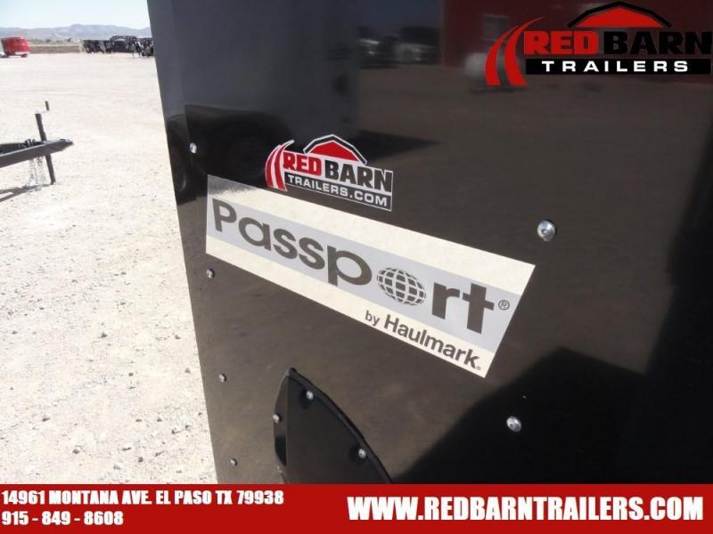 7 x 14 2019 HAULMARK PASSPORT Enclosed Cargo Trailer