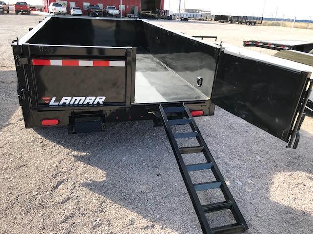 77x12 2019 Lamar Trailers Medium Dump (DM) 10K Dump Trailer @ Red Barn Trailers
