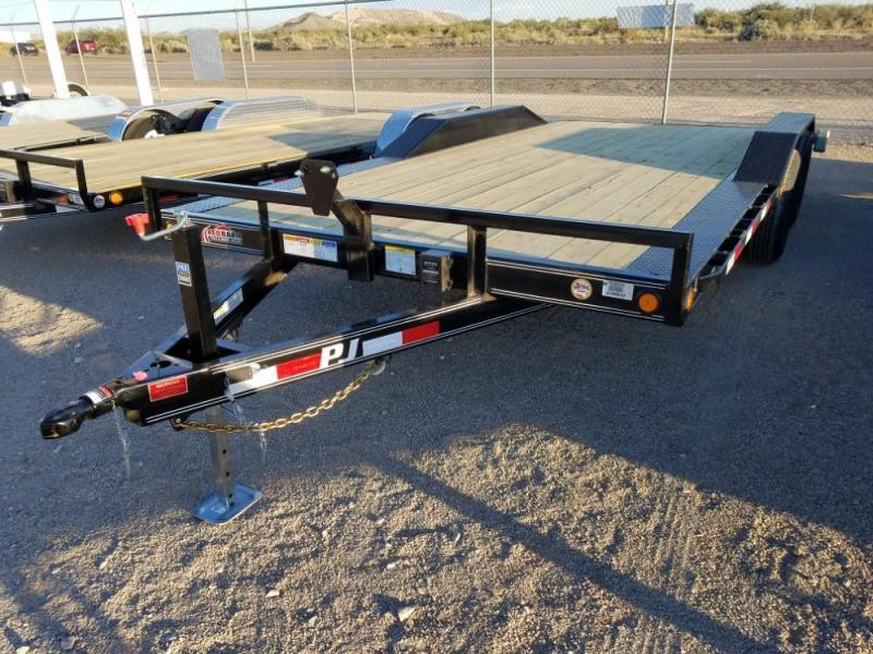 "102"" X 18' PJ Channel Buggy Hauler (B5) @ Red Barn Trailers"