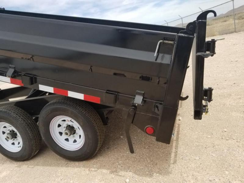 """8 X 14 10"""" I-Beam Deckover Dump (DT) @ Red Barn Trailers"""