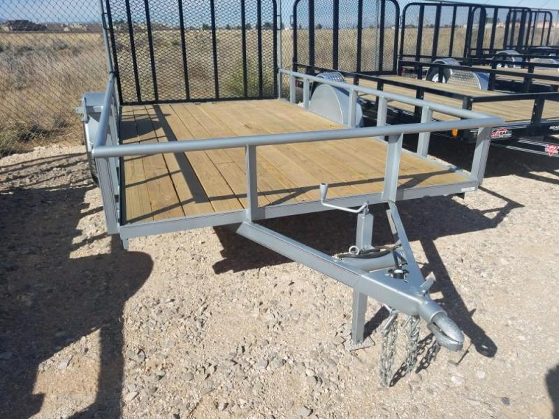 GR 6.5 x 12 Single Axle Utility - Ramp Gate @ Red Barn Trailers