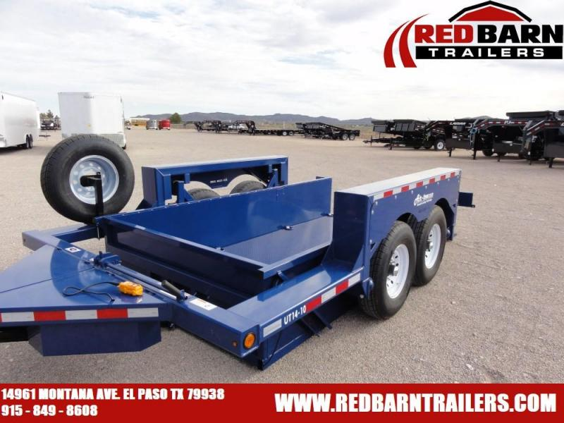 "6'3"" x 14 2020 Air Tow UT7014 Equipment Trailer @RED BARN TRAILERS"