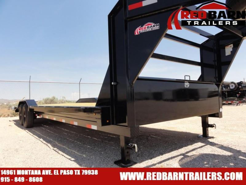 102 X 26 2020 Lamar Trailers H8022 Equipment Trailer @RED BARN TRAILERS