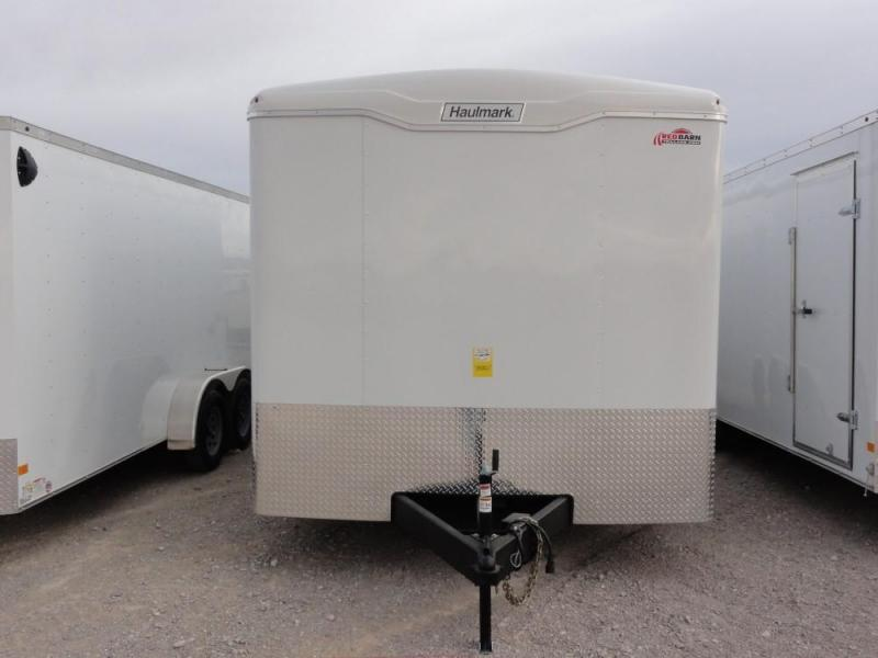 8.2 X 20 2019 Haulmark Transport Auto Enclosed Cargo Trailer @RED BARN TRAILERS