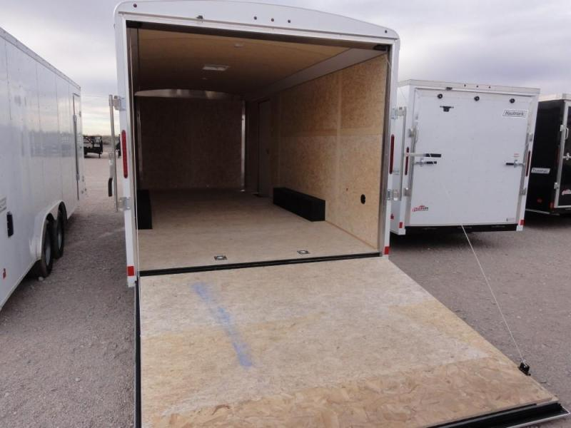 8.2 X 20 2019 Haulmark Transport Auto Enclosed Cargo Trailer @RED BARN TRAILERS
