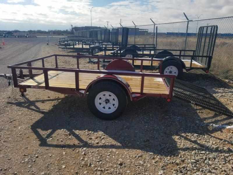 6 x 10 Single Axle Utility - Ramp Gate @ Red Barn Trailers