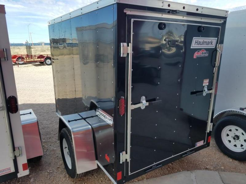 5 x 8 ENCLOSED/CARGO TRAILER @ Red Barn Trailers
