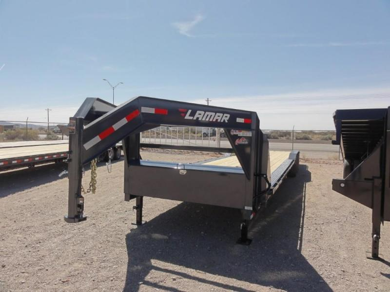 102 X 38 2019 Lamar Trailers H8023837 Flatbed Trailer @RED BARN TRAILERS