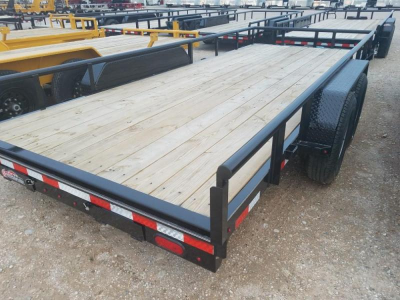 "83"" X 18 Heavy Duty Utility Trailer (U5) @ Red Barn Trailers"