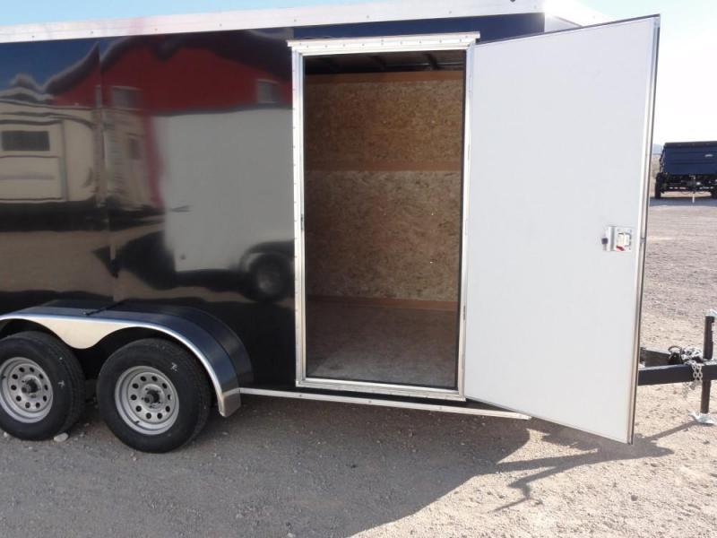 7x14 2019 Haulmark Transport V-Nose Enclosed Cargo Trailer @ Red Barn Trailers