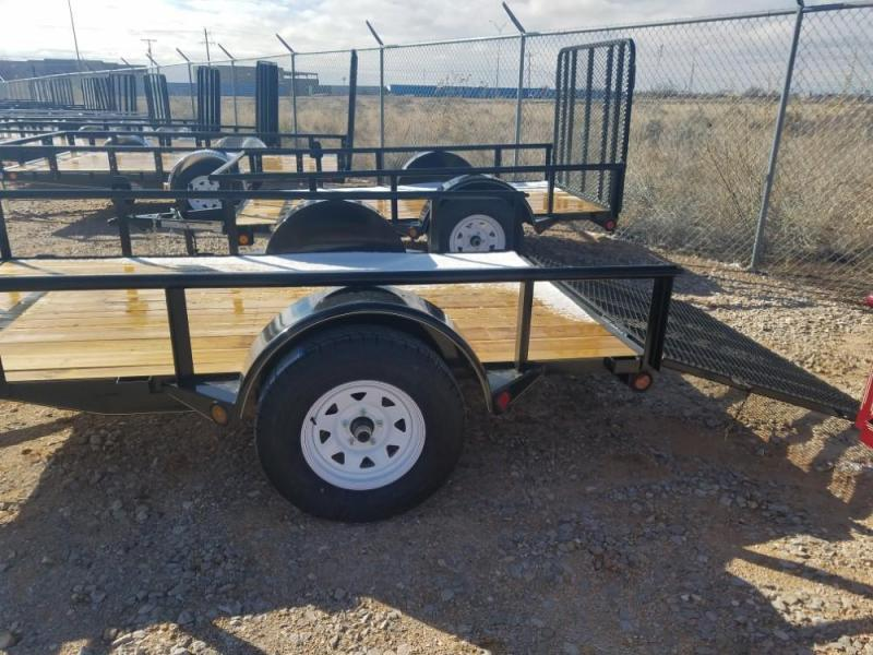 6 x 10 Single Axle Utility - Ramp Gate @ Red Barn Trailers