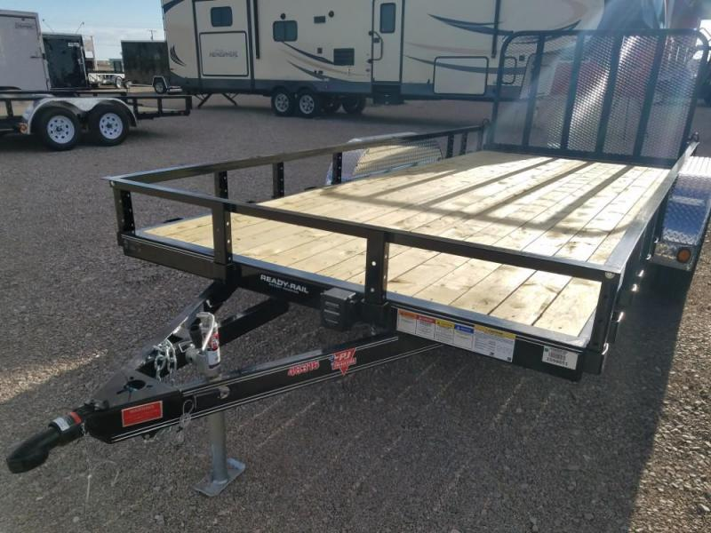 "83"" X 16 PJ Tandem Axle Channel Utility (UL) @ Red Barn Trailers"