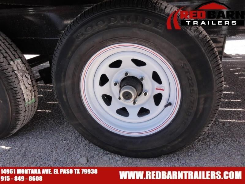 102 X 20 2020 PJ Trailers L6202 Flatbed Trailer @RED BARN TRAILERS