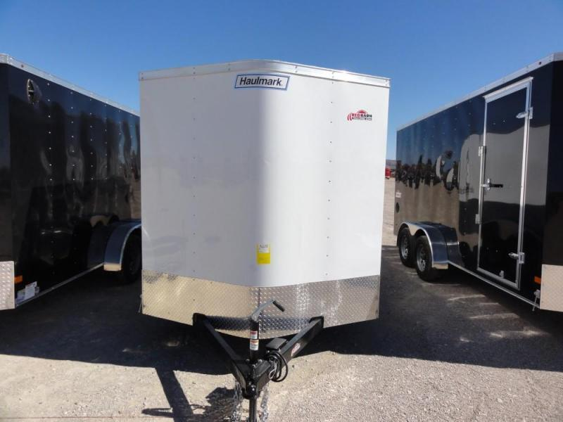 7x16 2019 Haulmark Passport  Enclosed Cargo Trailer @ Red Barn Trailers