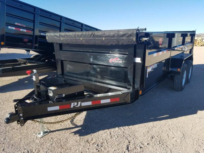 83 X 16 Low Pro High Side Dump (DM) Dump Trailer