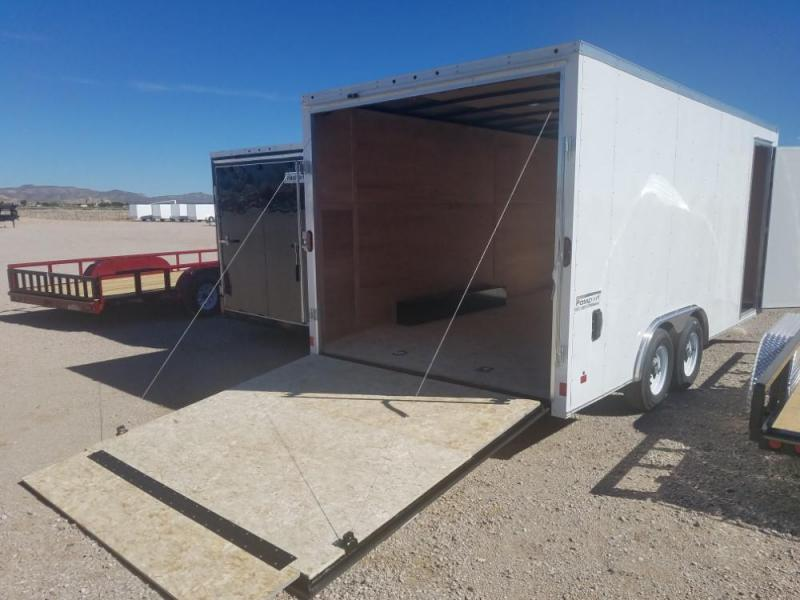 8.5 x 18 ENCLOSED/CARGO TRAILER @ Red Barn Trailers