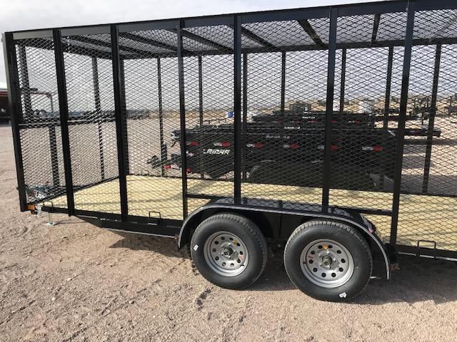 77x16 2019 Lamar Trailers Garbage Hauler Utility Trailer @ Red Barn Trailers