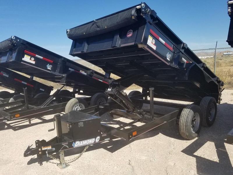 2019 PJ Trailers 83X14 Low Pro Dump @RedBarnTrailers