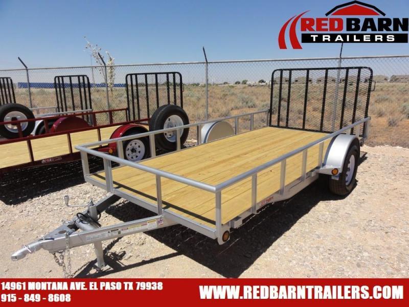 6.5 x 14 Single Axle Utility - Ramp Gate @ Red Barn Trailers