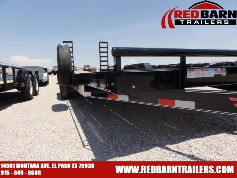 7 X 18 2019 Lamar Trailers H6182 Equipment Trailer @RED BARN TRAILERS