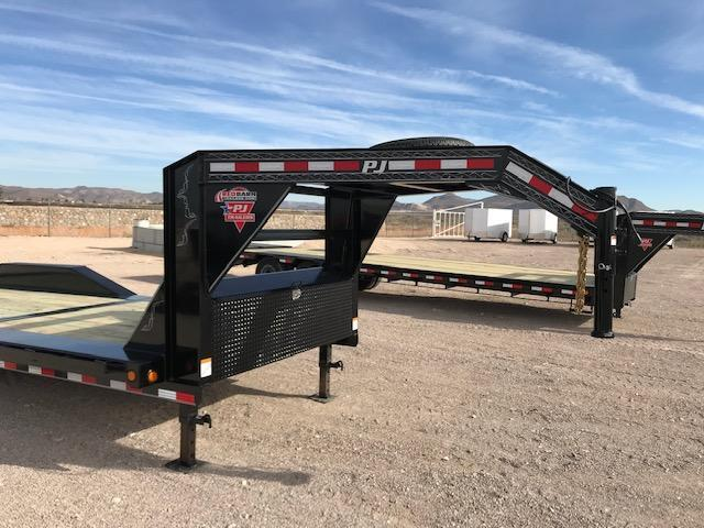 102 x 24 2019 PJ Trailers 6 Channel Super-Wide Tilt (TS) Flatbed Trailer