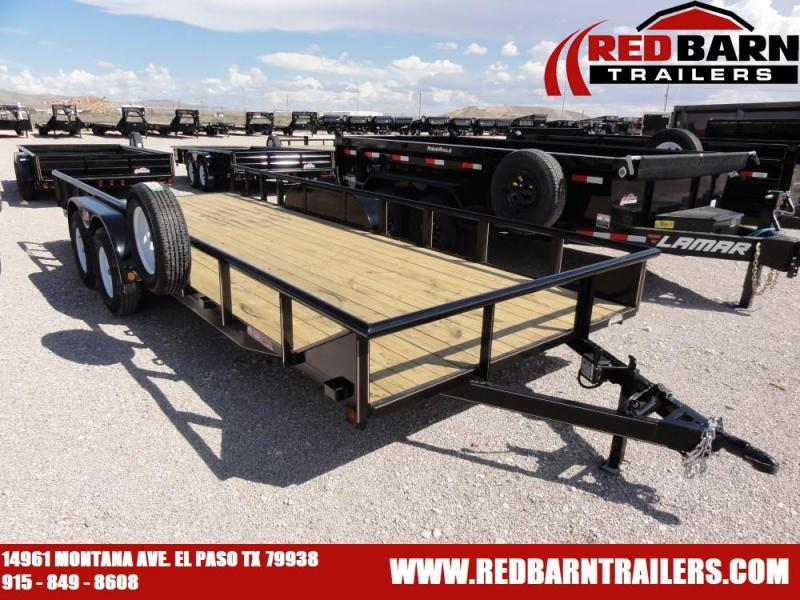 7 X 202019 GR Trailers UT7022WR07L Utility Trailer @RED BARN TRAILERS