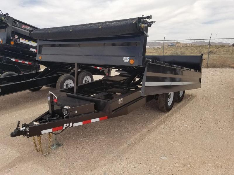 "96"" X14' DECKOVER DUMP 14K @ Red Barn Trailers"