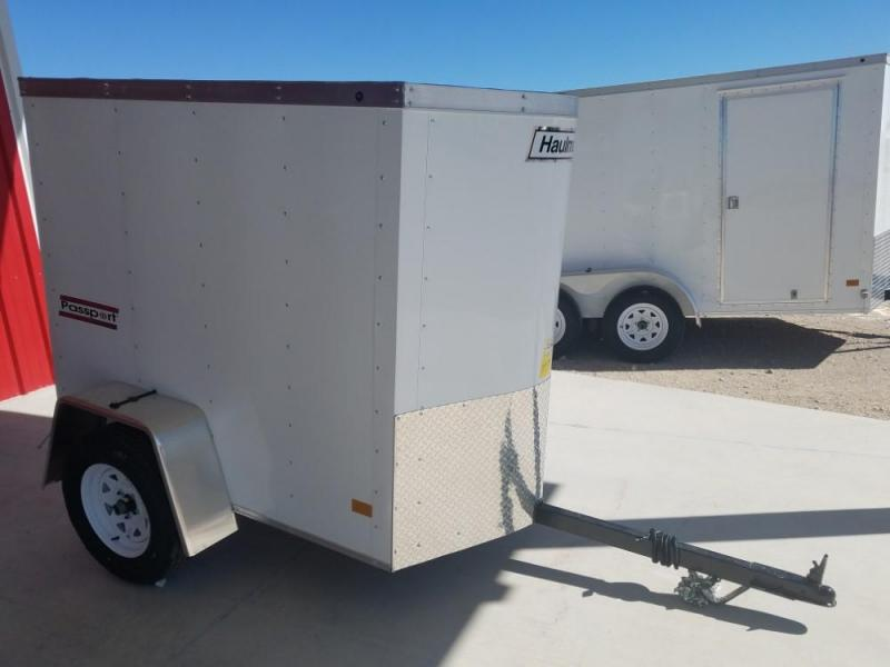 4 X 6 ENCLOSED/CARGO TRAILER @ Red Barn Trailers