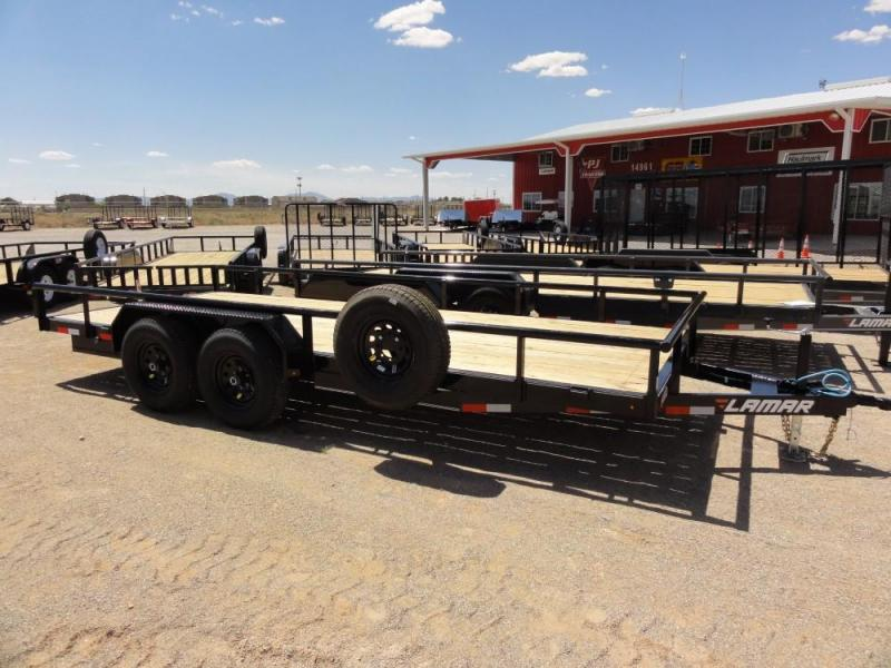 83 X 18 LAMAR 10K HEAVY DUTY UTILITY @RED BARN TRAILERS