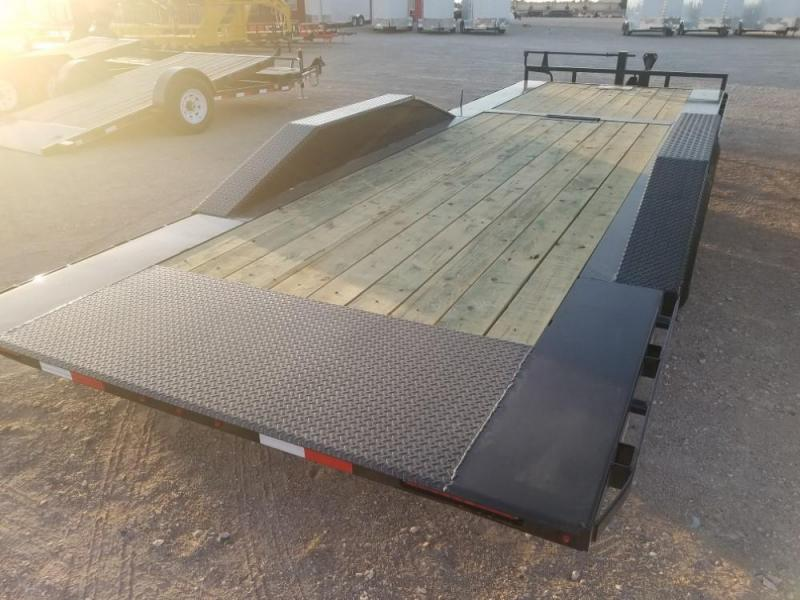 "102 X 24 6"" Channel Super-Wide Tilt (TS) Car / Racing Trailer @ Red Barn Trailers"