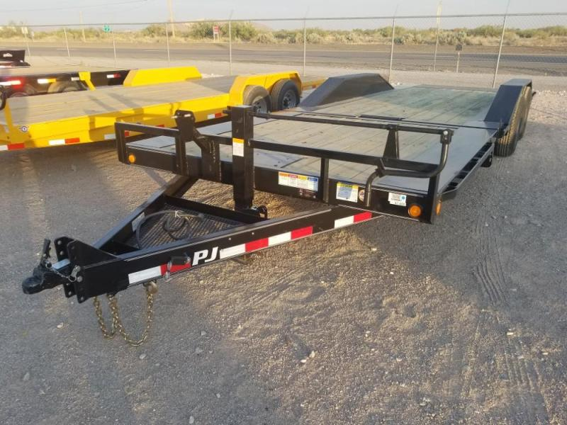 2019 PJ Trailers 6 Channel Super-Wide Tilt (TS) Car / Racing Trailer @ Red Barn Trailers