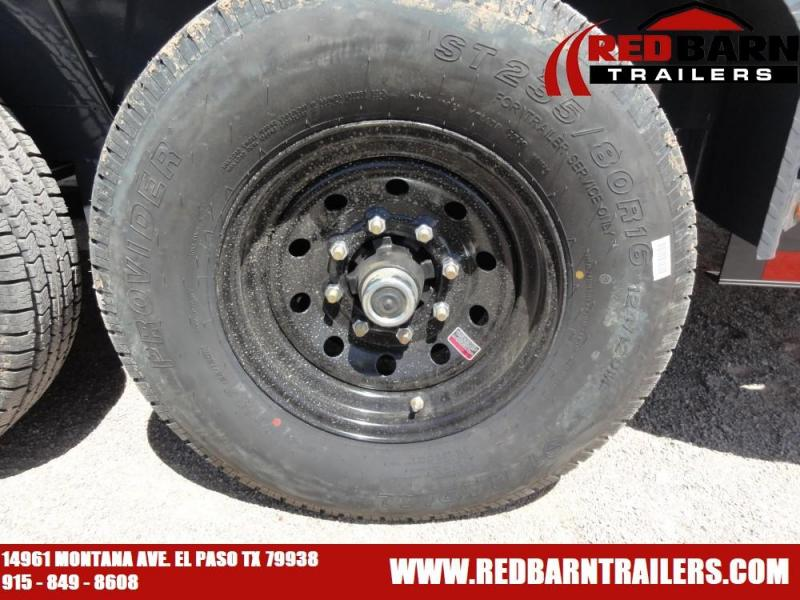 7 X 142019 Lamar Trailers U68314 Utility Trailer @RED BARN TRAILERS
