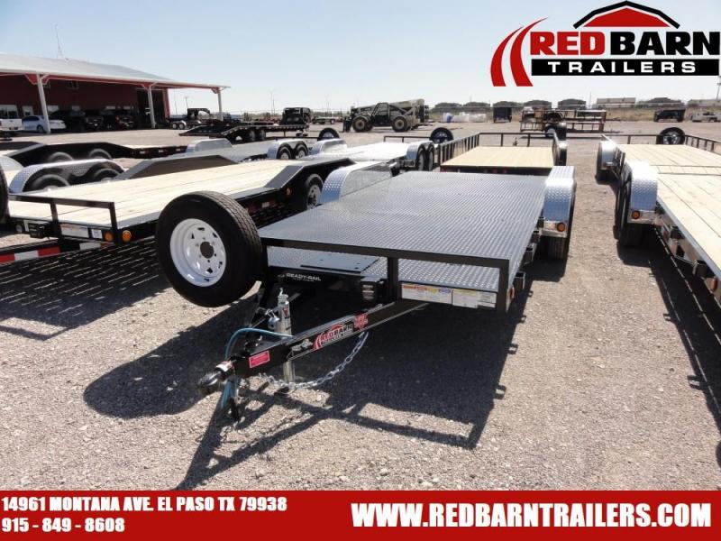83 x 18 PJ STEEL DECK CARHAULER @RED BARN TRAILERS