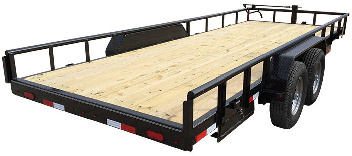 "83"" X 18 Extreme Duty Utility Trailer (U6) @ Red Barn Trailers"