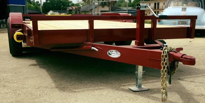 2018 Bayou Trailers 83 x 16 Equipment Trailer