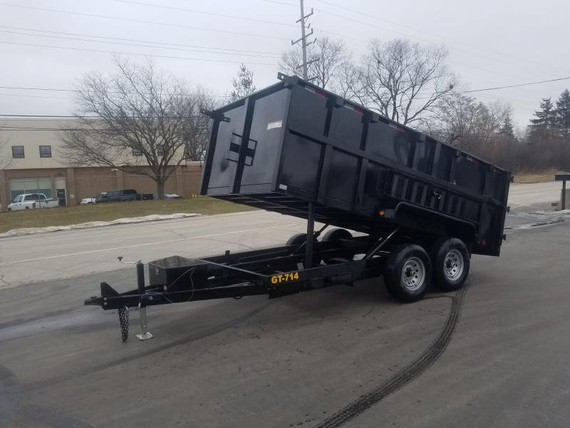 2019 Griffin 14 FOOT DUMP HIGH SIDE Dump Trailer