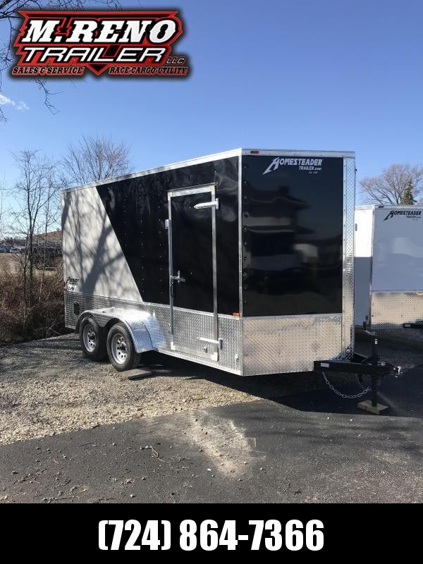 2019 Homesteader Inc. 714PT Enclosed Cargo Trailer