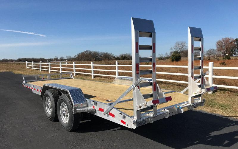2018 Sundowner 7x18' All AlumInum Equipment Trailer 11960# GVW APU18BP * 5200# TORSION * ALUMINUM RAMPS * EXTRUDED FLOOR * ALUMINUM WHEELS * TORSION * TOOLBOX