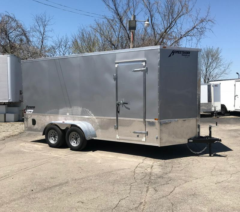 2018 Homesteader Inc. 716IT Enclosed Cargo Trailer