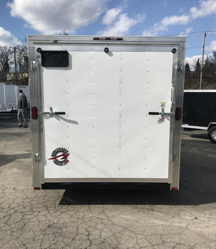 2018 Homesteader Inc. 714IT Enclosed Cargo Trailer