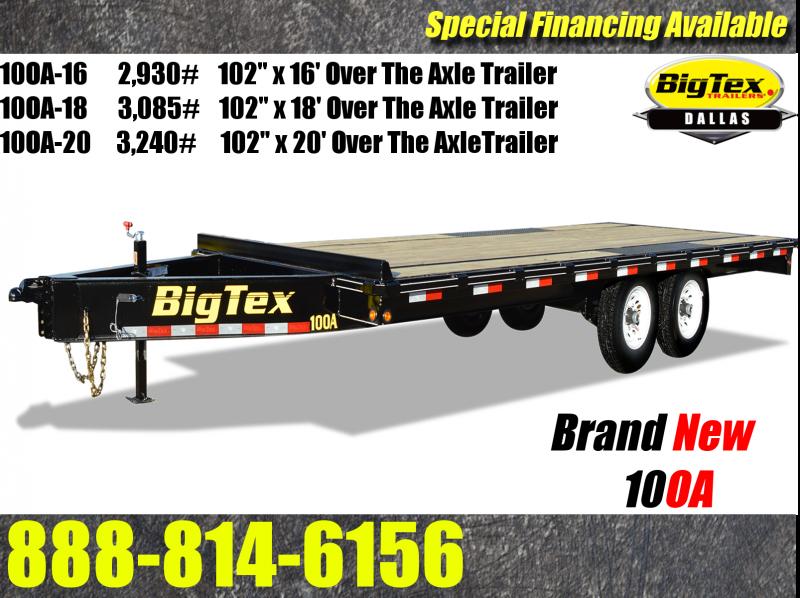 2016 Big Tex Trailers 10OA Equipment Trailer | Near Me