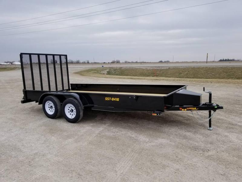 2018 Doolittle Trailer Mfg SST84x16 Tandem Axle Utility Trailer