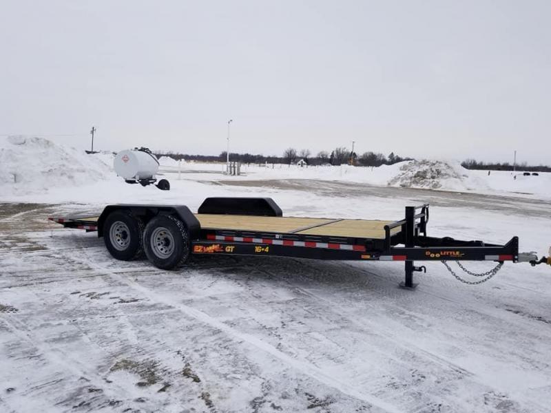 2019 Doolittle Trailer Mfg 82x20 EZ Loader GT 14k Tilt Bed Equipment Trailer