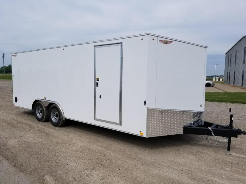 2018 H and H Trailer 8.5x20 Enclosed Cargo Trailer