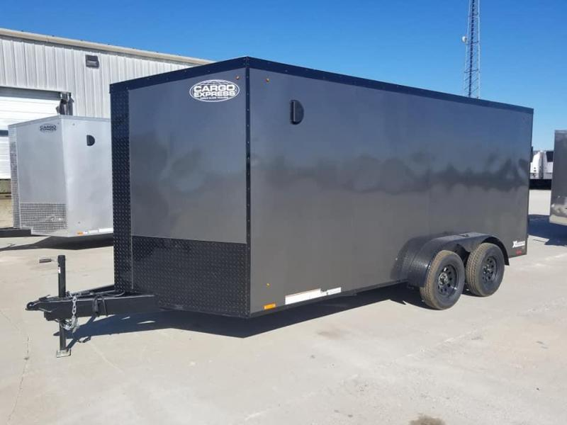 2020 Cargo Express XLW SE 7x16 Blacked Out Enclosed Cargo Trailer