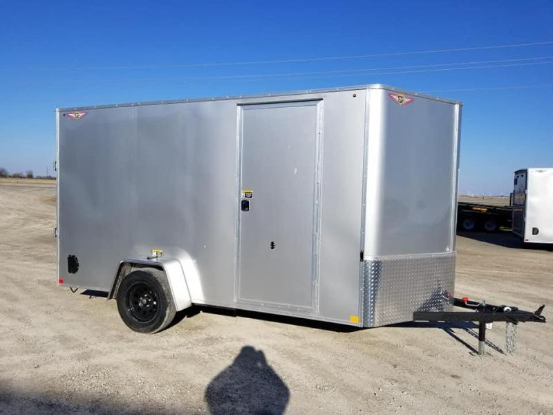 2019 H and H Trailer 6X12 Enclosed Cargo Trailer
